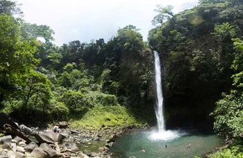 Safari Float and Waterfall Hike