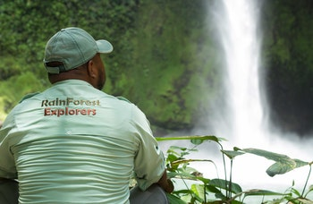 Safari Float Fortuna Waterfall Hike and Arenal National Park Tour