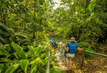 2 in 1 Tour - Safari Float & Waterfall