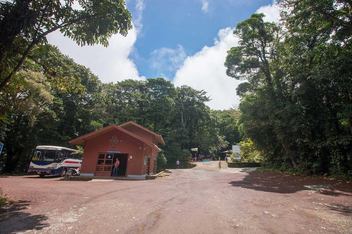 Monteverde Cloud Forest Reserve Entrance