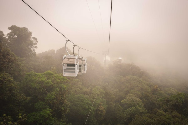 Monteverde Cloud Forest Reserve, Sky Tram and Sky Trek
