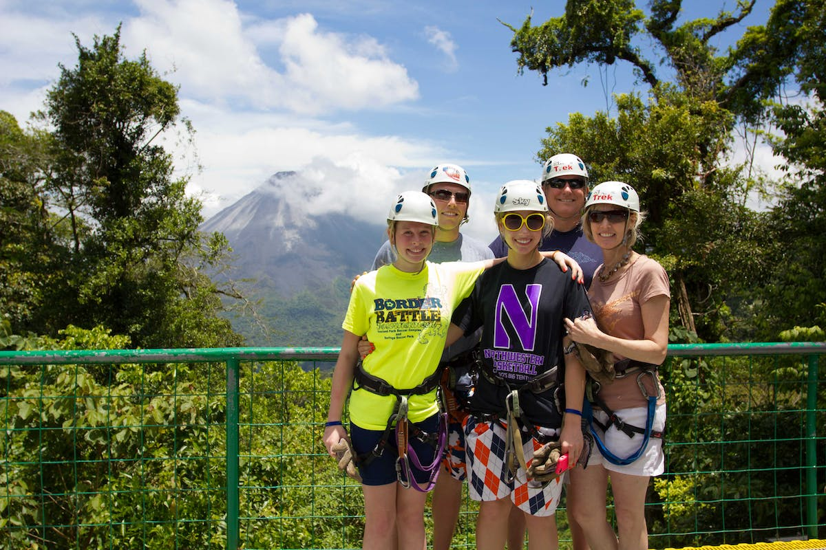 Sky Trek Arenal Point View