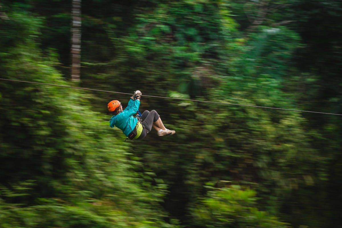Ziplines in Costa Rica Arenal