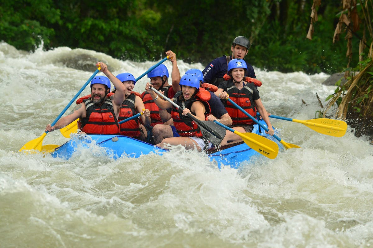 Rafting tour in Arenal Volcano
