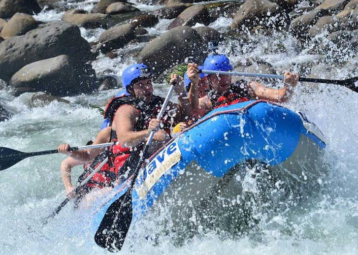 Whitewater Rafting Balsa River Class II and III