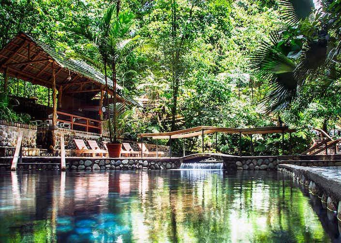 4 in 1 Bridges + Waterfall + Volcano + Eco Termales