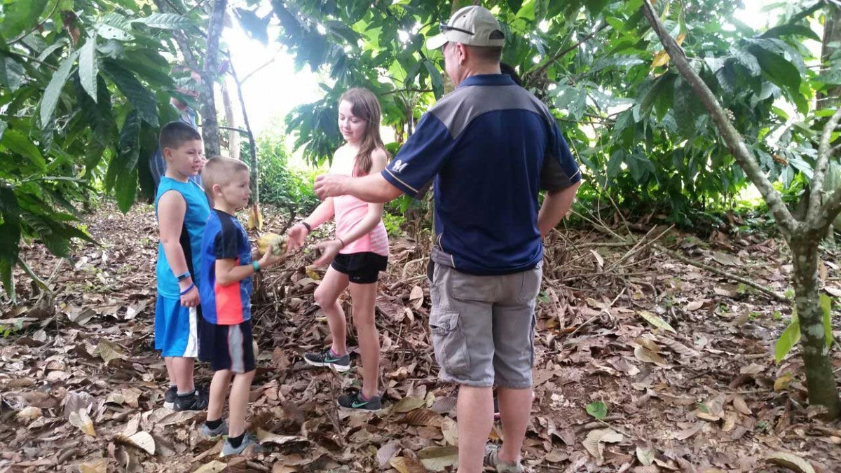 Arenal Family Tours Chocolate