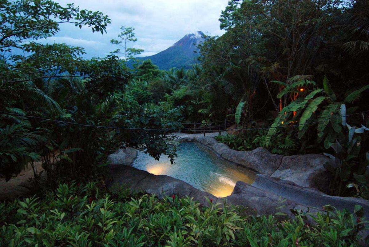 Los Perdidos Hot Springs Arenal