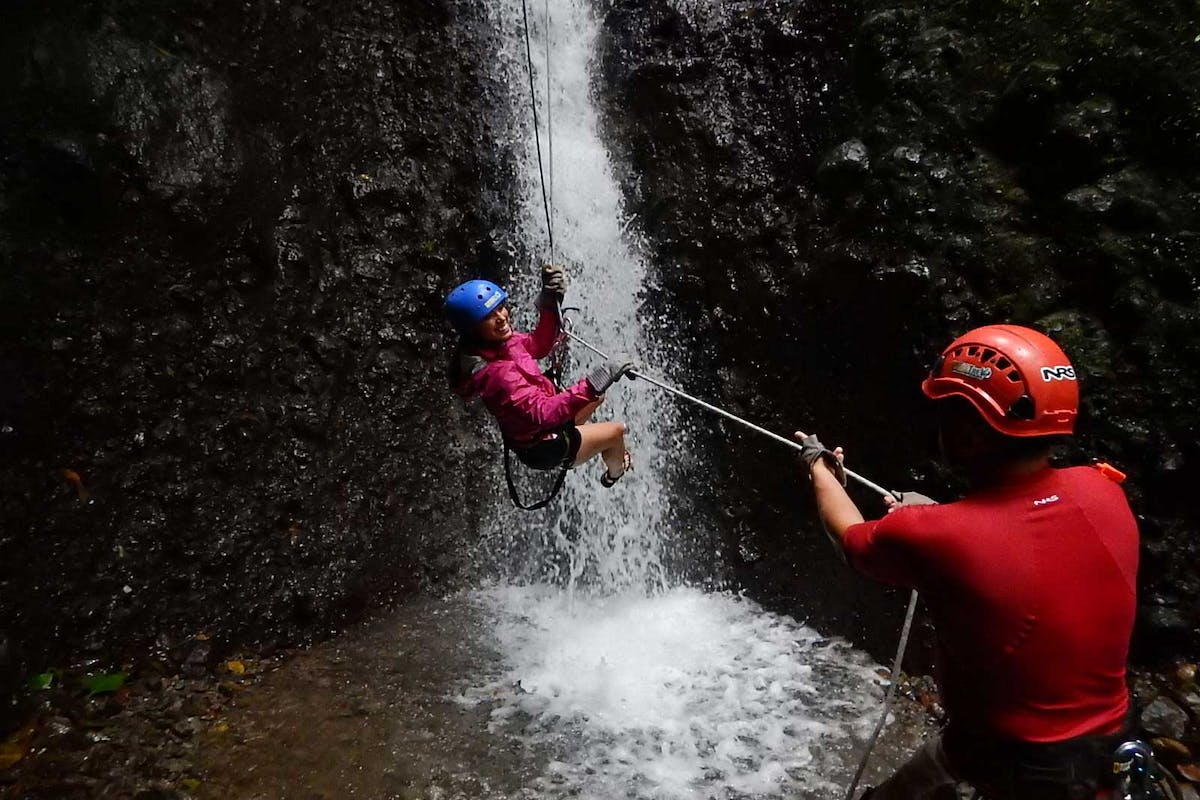 Arenal Rapelling Tour