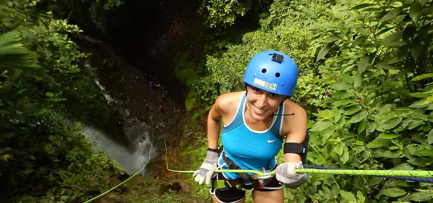 Arenal is the number one destination for adventure seekers in Costa Rica and above many other countries of the world, where else can you find so much that is hard for you to choose from? Arenal combines the views of the volcano, the relaxing hot springs and the adventures of the rainforest. If the adrenaline brings you to do waterfall rappelling then this PureTrek Canyoning Tour is what you are looking for!