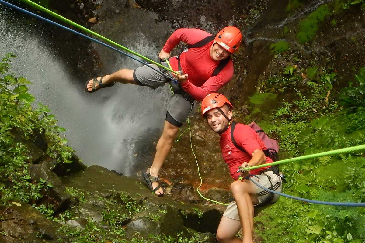 Pure Trek Waterfall Rappelling