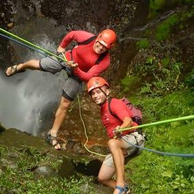Pure Trek Waterfall Rappelling