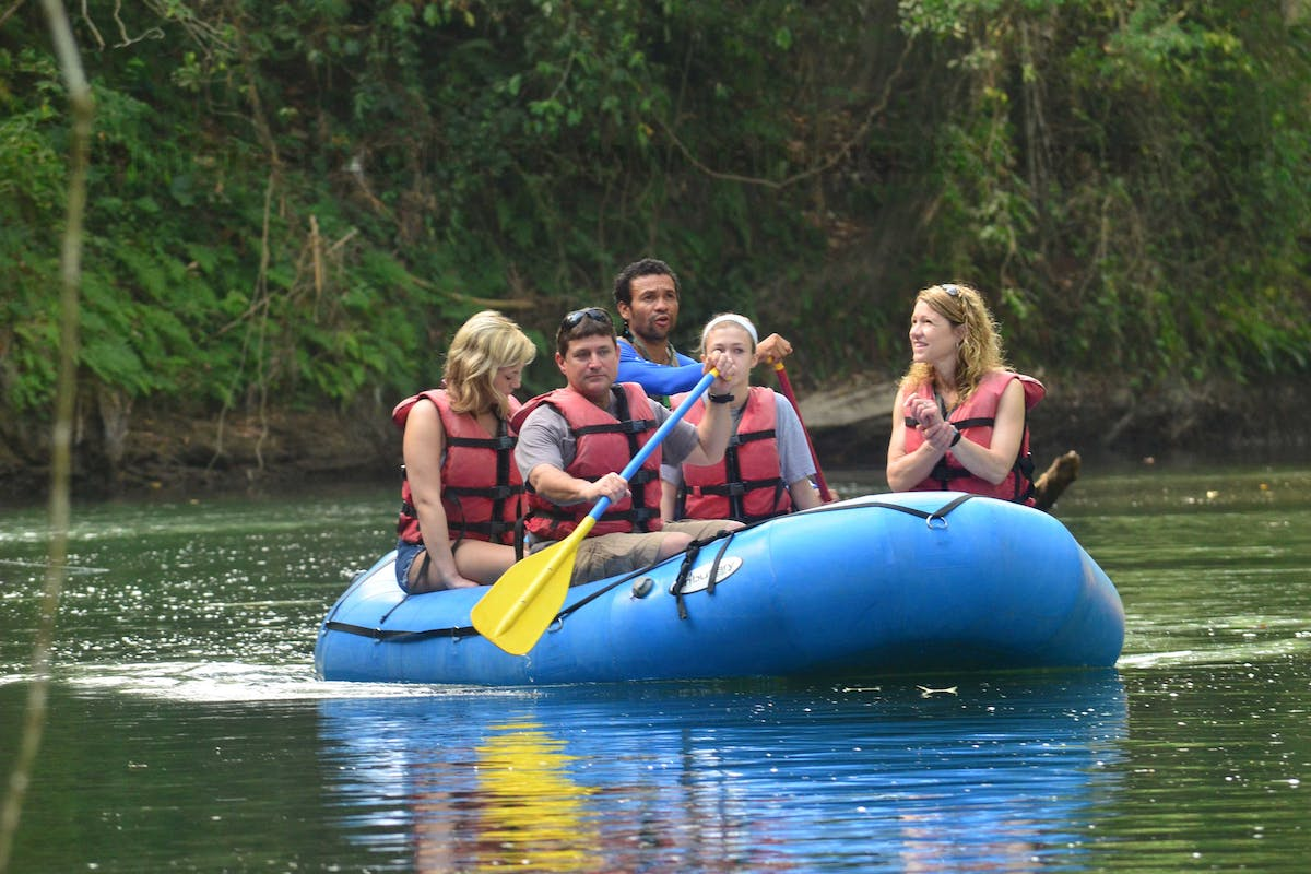 Safari River Float Tour 1