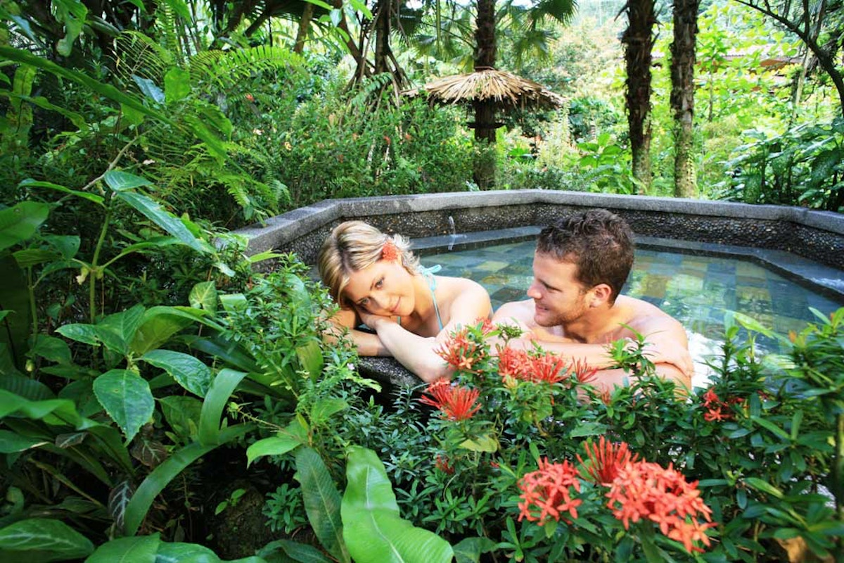 Tabacon Hotsprings Arenal Costa Rica
