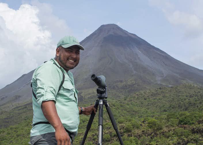 3 in 1 Safari + Waterfall and Volcano Hike